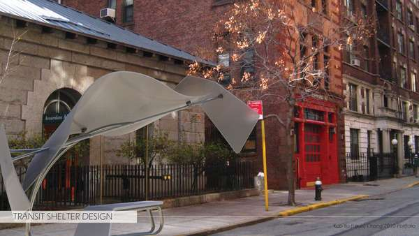 Transit Shelter Design by Kuo-Yu Chang