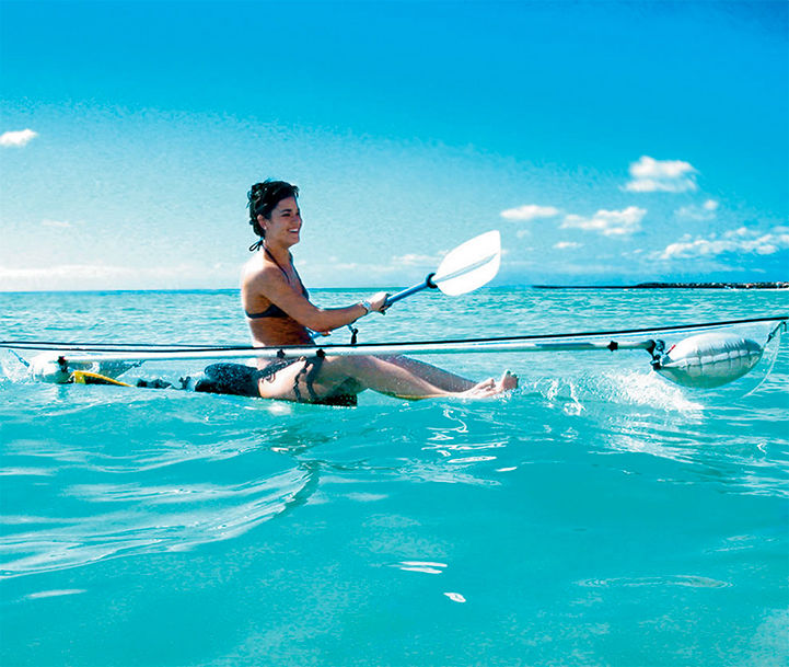 Transparent Canoes