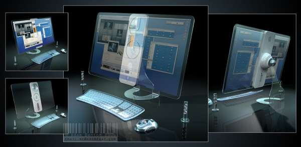 Transparent iMac Design