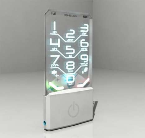 Transparent Nokia Concept Phone