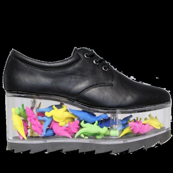 Transparent Platform Shoes