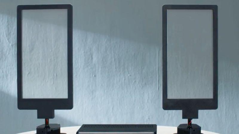 Modern Translucent Speakers