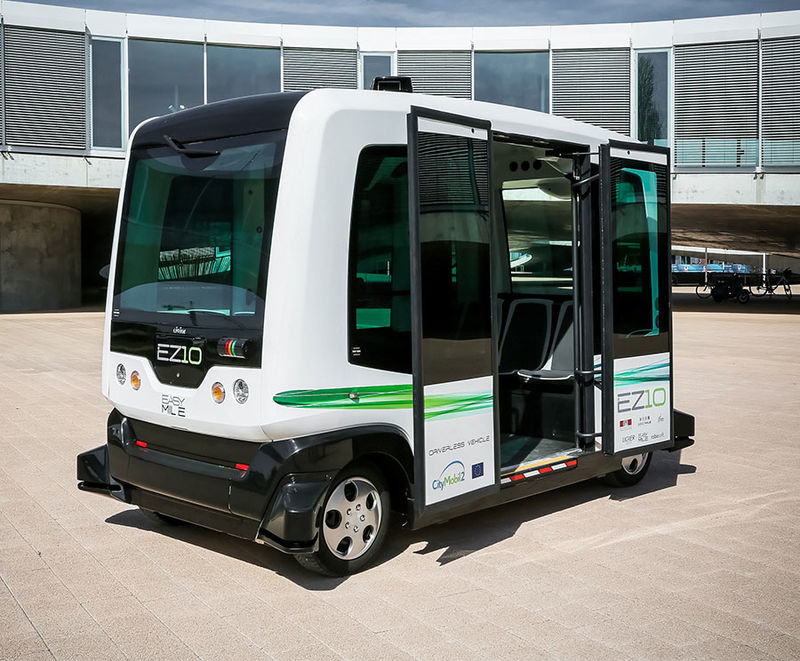 Driverless Shuttle Services