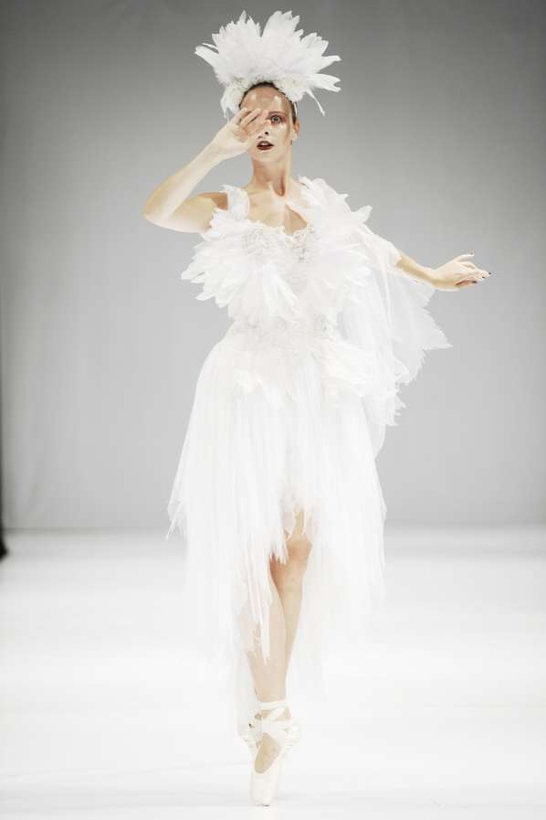 Black Swan-Inspired Catwalks