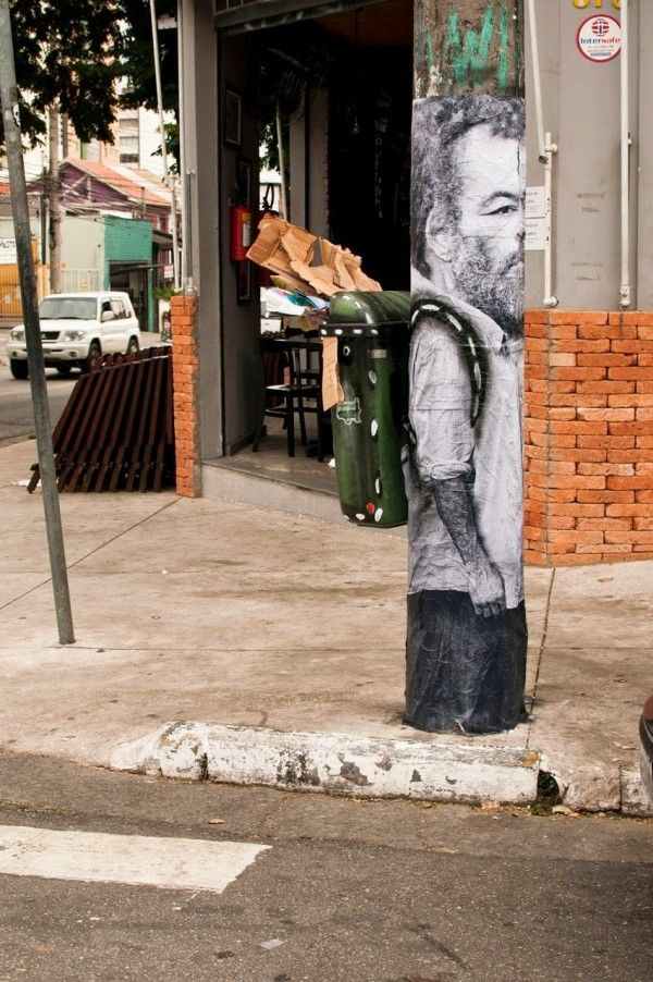 Trash Can Graffiti