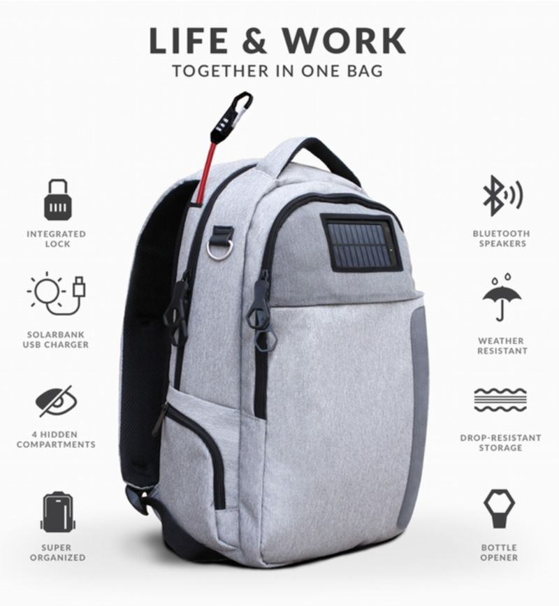Tech-Centric Travel Packs : travel backpacks