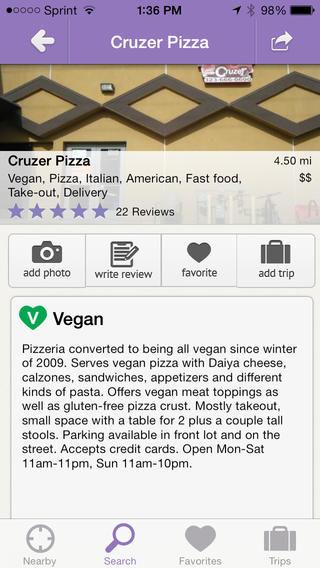Vegetarian Restaurant Locator Apps