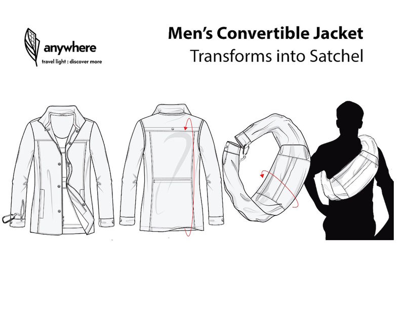 Transformative Travel Outerwear