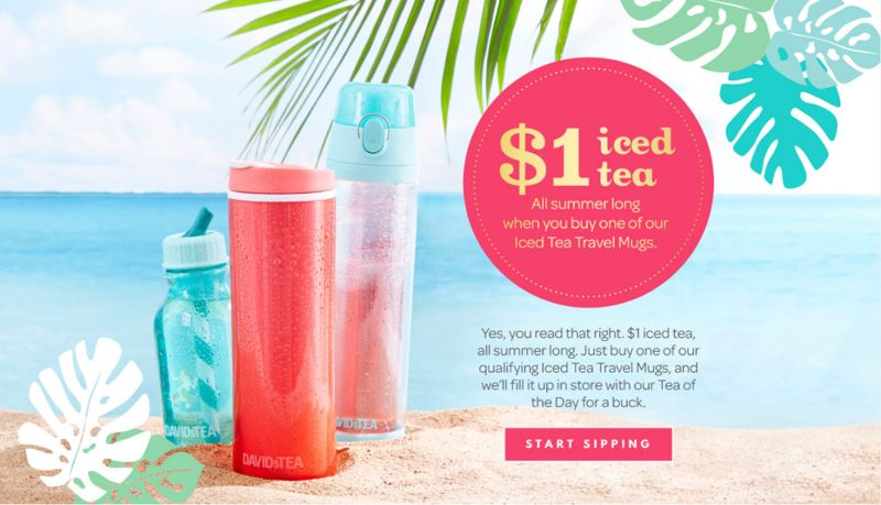 Thirst-Quenching Tea Promotions