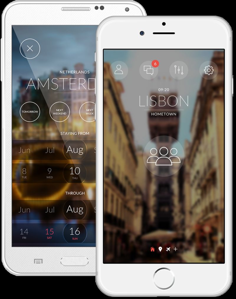 Travel Networking Apps