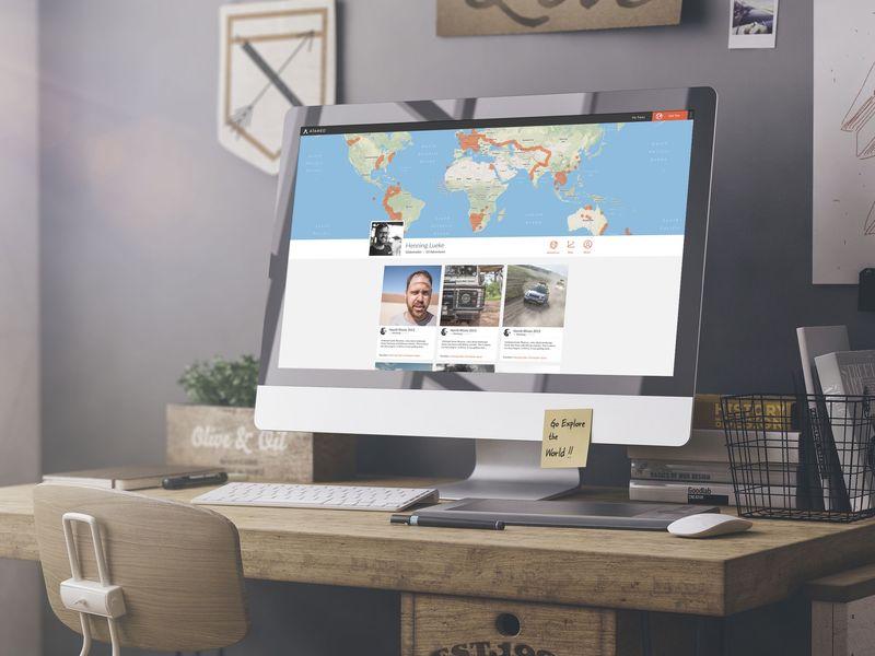 Trip-Tracking Travel Portfolios