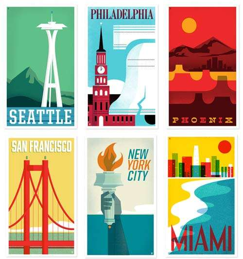 Timeless Travel Posters