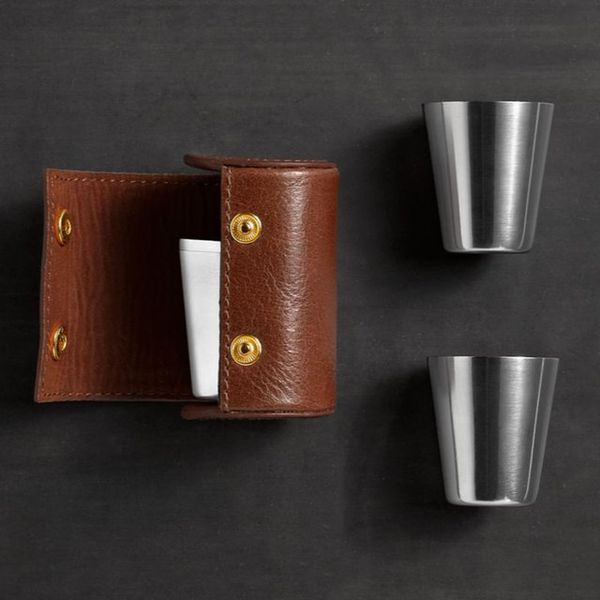 Sophisticated Travel Shot Glasses