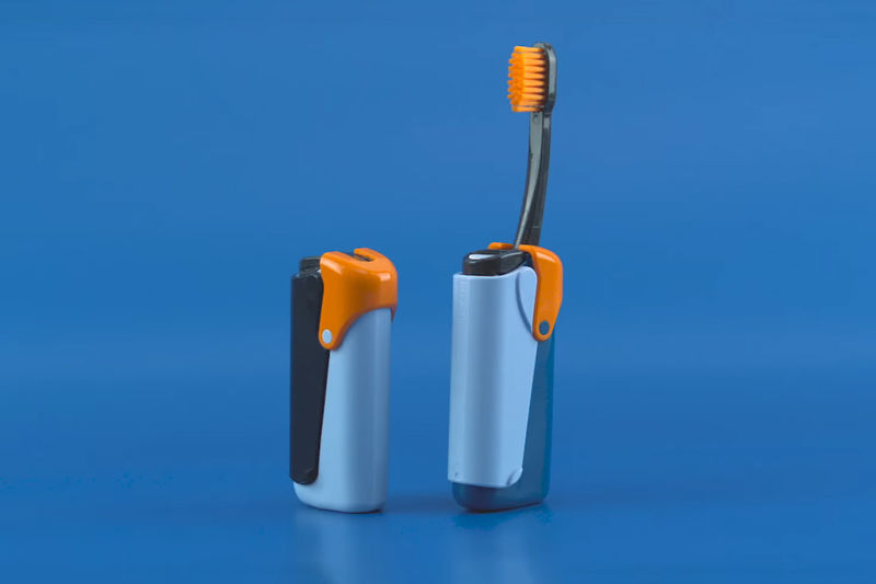 All-in-One Travel Toothbrushes