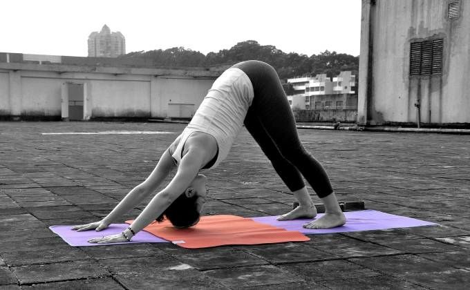 Two-Piece Yoga Mats