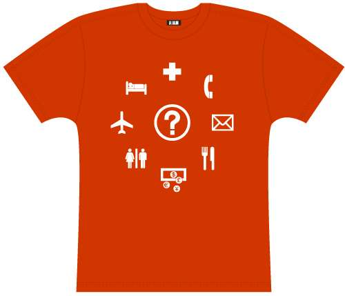 Traveler's Phrasebook T-Shirt