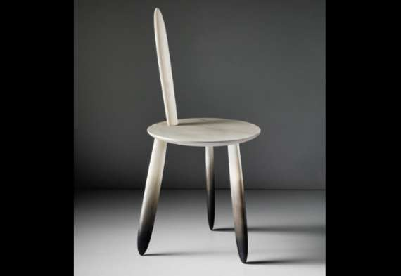 Treated Chair by Aldo Bakker