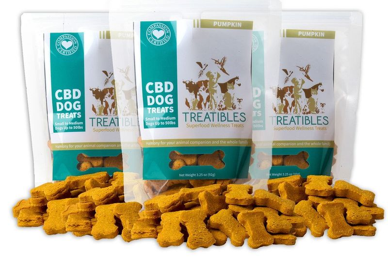 Cannabis Infused Pet Treats Treatibles