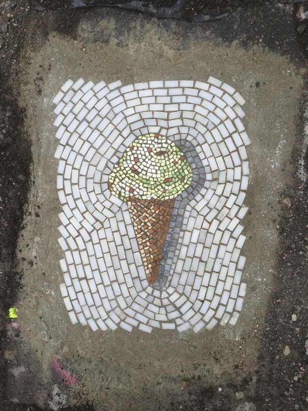 Sweetened Pothole Art