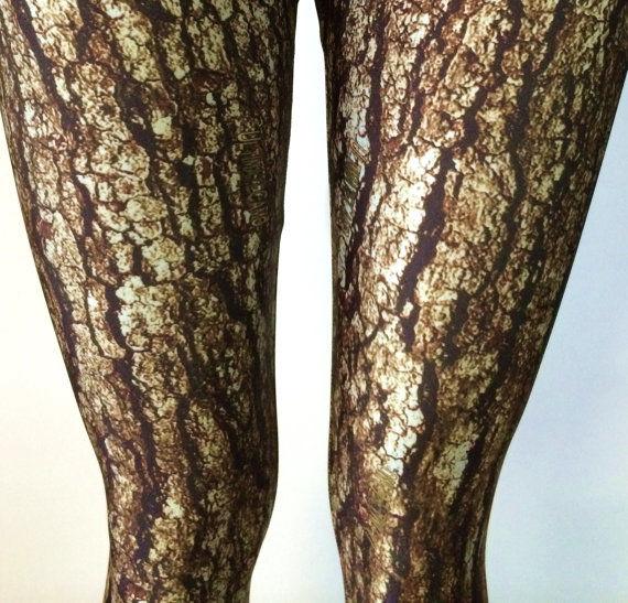 Leafy Woodland Leggings