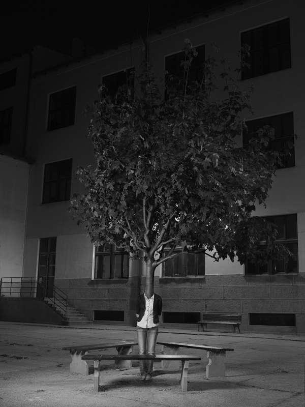 Bizarre Anamorphic Photography