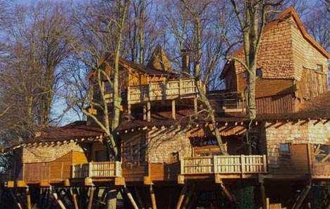 Treetop Castles The Duke Of Northumberland S Swanky