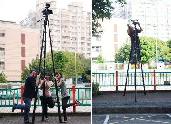Giant Climbable Tripods