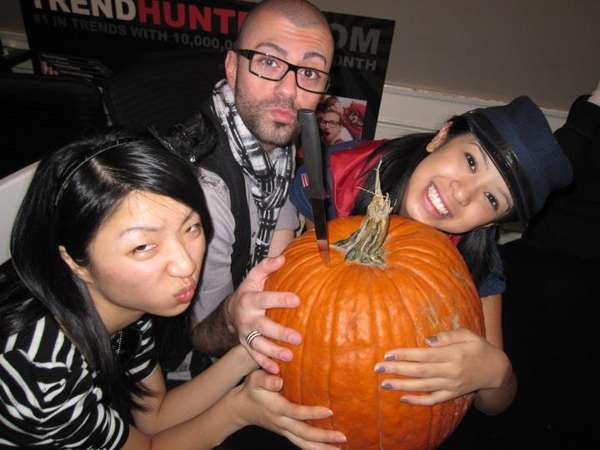 trend hunter pumpkin carving fun day