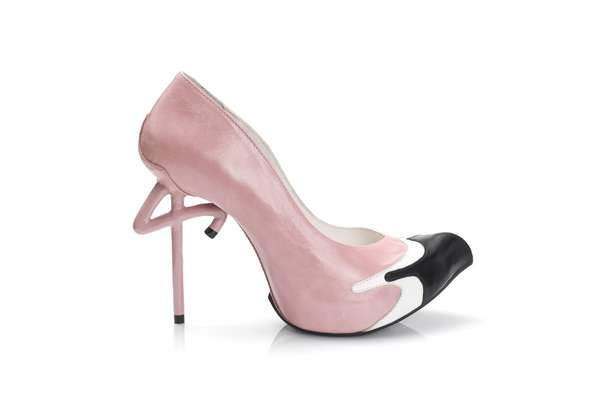 Flamingo-Inspired Shoes