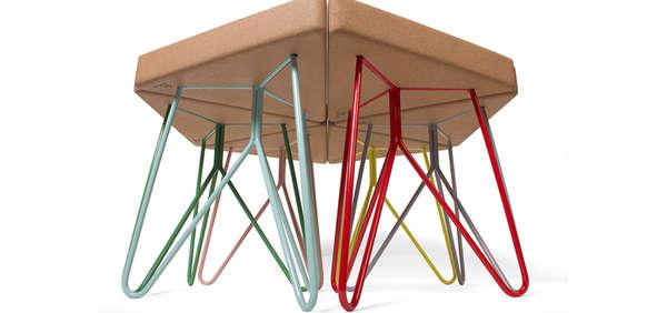 Versatile Triangular Perches