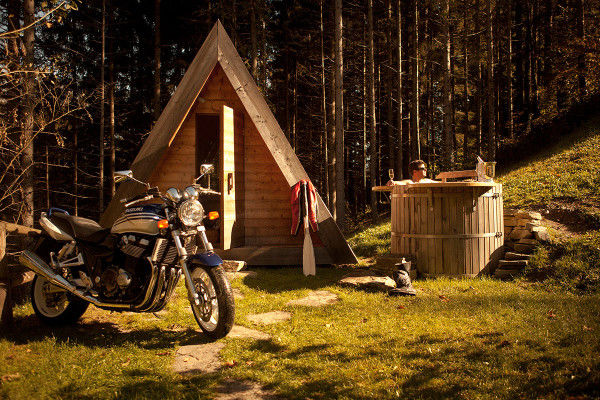 Eco-Friendly Glamping Cabins
