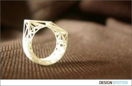 Triangular Structure Ring