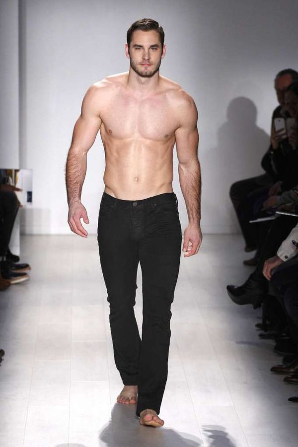 Shirtless Runway Shows