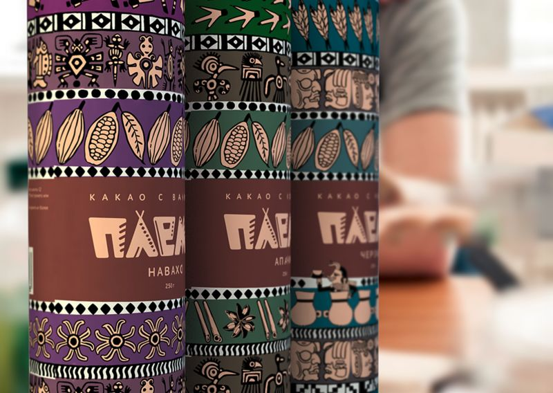 Patterned Totem Packaging