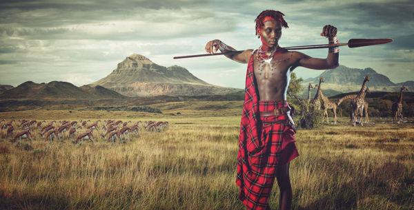Stylized Ethnic Costume Photography