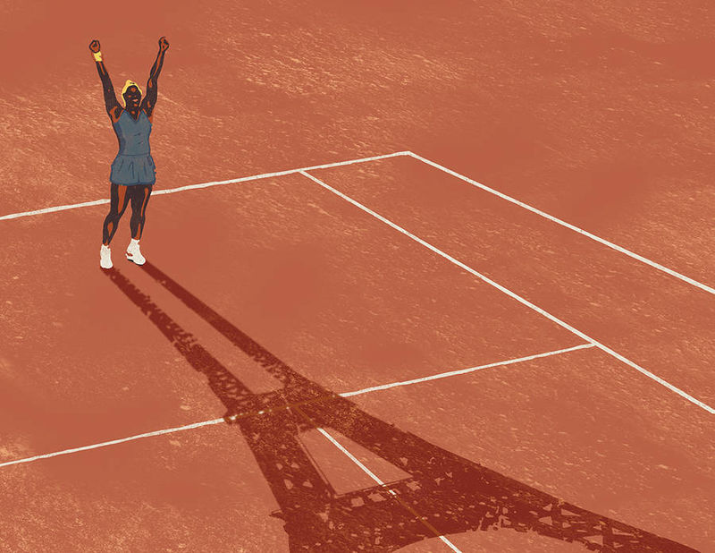 Tennis Star Tribute Art