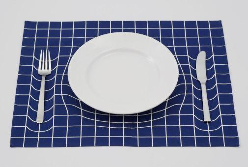 Mind-Bending Dinnerware