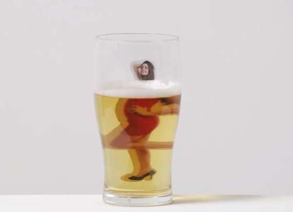 Beer Goggle Pint Glasses