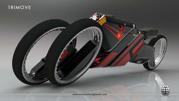 Fiercely Futuristic Tricycles