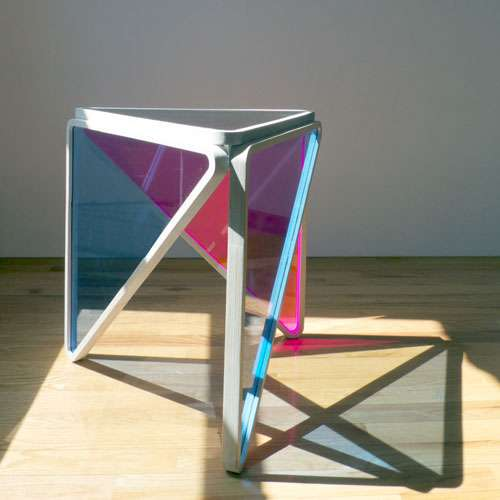 Translucent Triangular Stands