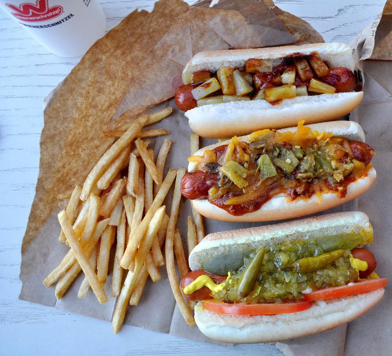 Americana-Inspired Hot Dogs