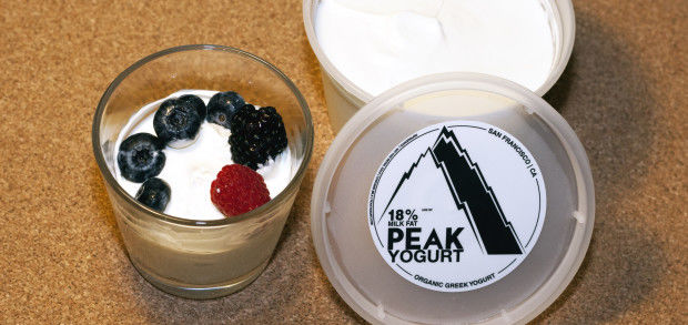Organic Triple Cream Yogurts