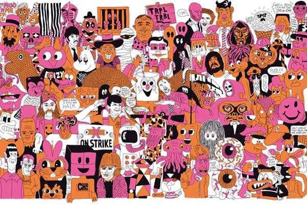 Kooky Collage Art