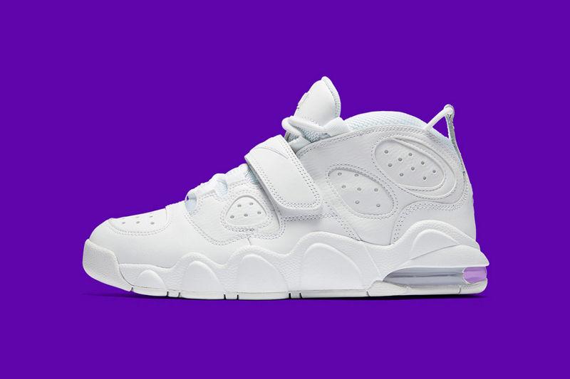 Retro All-White Sneakers