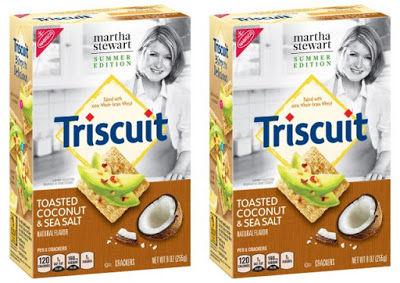 Salty Coconut Crackers
