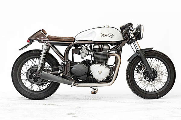 Vintage Hybrid Motorcycles