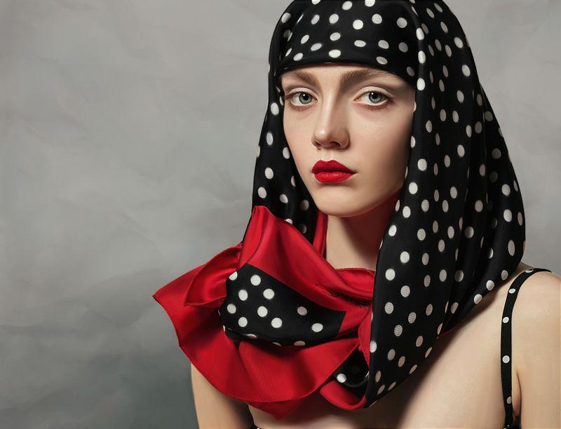 Paint-Like Fashion Photography