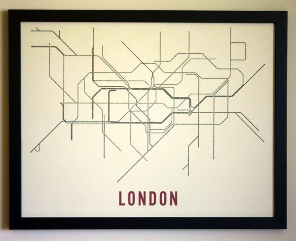 Typographic Transit Maps