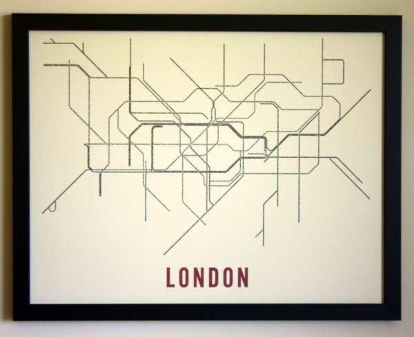 Typographic Transit Maps