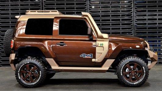 Earthy Off-Road SUVs